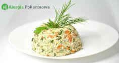 Wiosenna sałatka z komosy ryżowej (quinoa) – bez glutenu, mięsa, mleka, jajek, kukurydzy