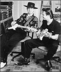 1f337b4c74796 Stevie Ray Vaughan   Jimmie Vaughan (the older brother of SRV)