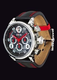 BRM G45 T & MRT48 Red Hands Mens G45 T AR Watch