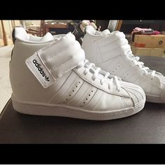 swarovski adidas superstar originali bianco & nero nwt superstar