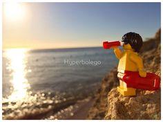 Hyperbolego – Lego Inspired Original Photography Life Guard on Duty