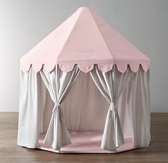 Pavilion Play Tent - Oh what fun for knights & maidens fairy tales!