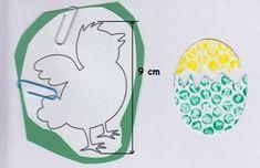 Velikonoční tvoření s bublinkovou fólií Toddler Activities, Diy For Kids, Jar, Easter, Easter Activities, Jars, Toddler Crafts, Glass