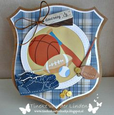 Marianne Design, Diaper Bag, Lunch Box, Sport Thema, Collection, Men, Cards, Sports, Party