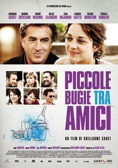 """""""Piccole bugie tra amici"""", regia di Guillaume Canet, distribuito da Lucky Red, poster design internozero comunicazione"""