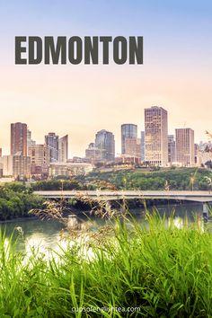 Visite d'Edmonton en Alberta Road Trip Usa, Gotham City, Calgary, Pvt Canada, Le Palais, North America, Travel Tips, Cups, English