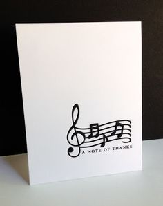 "A ""Musical Note"" of Thanks"
