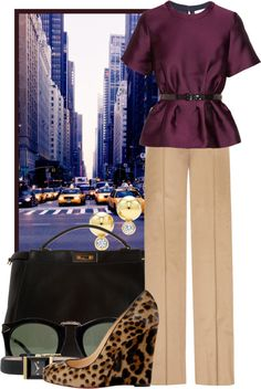"""""""Business With a Twist"""" by ssquared on Polyvore"""