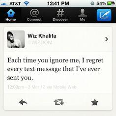 I just seriously love Wiz Khalifa.