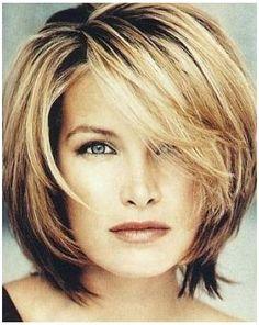 Short Length Haircuts, Short Layered Haircuts, Layered Bob Hairstyles, Short Hairstyles For Women, Medium Hairstyles, Bob Haircuts, Curly Hairstyles, Celebrity Hairstyles, Wedding Hairstyles