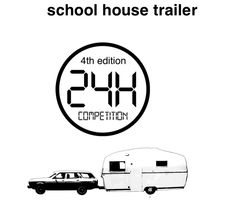 // nowadays nomadays - school house trailer //