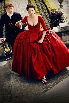 Diana Gabaldon Outlander, Claire Outlander, Outlander Serie, Outlander Season 2, Outlander 2016, Watch Outlander, Outlander News, Outlander Wedding, Jamie Fraser