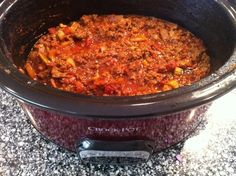 Low Carb Chili - All the amazing flavors of chili, without the beans. I think you will find that you don't miss them at all.