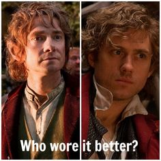 Bilbo wins. Bilbo will always win. Right on. Expecially if it is Martin Freeman
