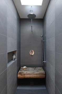 Narrow shower