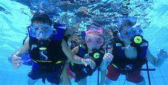 Das Seal Team-Programm besteht aus einer Reihe von Unterwasser-Tauchabenteuern speziell für Kinder ab 8 Jahren, die zunächst grundlegende Tauchfähigkeiten abdecken.