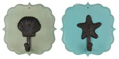 Nautical Plaque Hooks click through for project instructions
