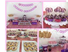 Fiesta de Rapunzel para el cumple de Maria Camila