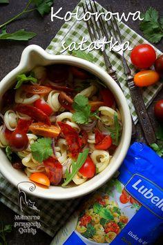 Kulinarne przygody Gatity: Makaronowa sałatka z pomidorami