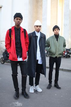 They Are Wearing: Paris Men\'s Fashion Week Fall 2014