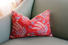 China Seas Malay Batik Cushion Cover Pillow 12 x 18 by Aurelia6311