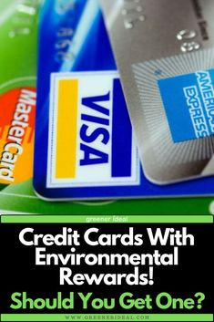 Living an eco-friendly life is a challenge in today's world, but worth the effort. Sometimes credit card companies are far from environmentally conscious. But do you know there are actually some credit cards out there that promote an eco-friendly lifestyle? The answer is yes, to an extent. Tap to learn more!  #ecofriendly #creditcard #creditcards #greenliving #environment