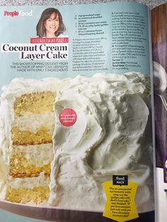 Coconut Cream Layer cake