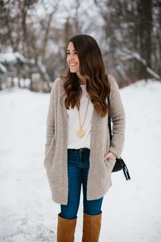Liz Adams shares tips and essentials for building a quality winter wardrobe. Living in the Midwest, it's important to invest in pieces that last.