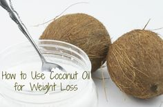 coconut oil for weight loss - Twenty minutes before mealtime is the best time to take your coconut oil as it will significantly reduce appetite and help you to feel full more quickly and be satisfied with smaller portions.