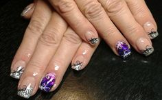 27 nails - gel - transparentní folie + razítka