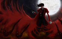 Alucard + Hellsing + Level Two by JamieChenArt.deviantart.com on @deviantART