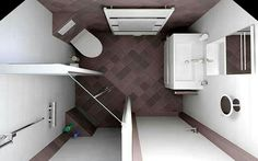 10 effective layout for small bathroom space -