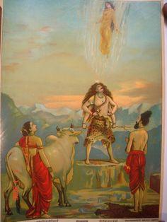 ravi varma Indian Artist, Peacock Painting, Photos Of Lord Shiva, India Art, Human Sketch, Ravivarma Paintings, Popular Art, Hindu Deities, Indian Art Gallery