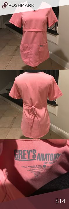 Greys Anatomy by Barco Scrub Top Excellent Condition Greys Anatomy Tops