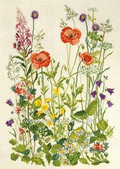 Shop online for Meadow Flowers Cross Stitch Kit at sewandso.co.uk. Browse our great range of cross stitch and needlecraft products, in stock, with great prices and fast delivery.