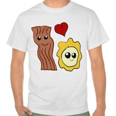 Bacon and Egg Love Shirt