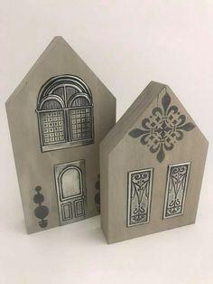 Pewter Art, Pewter Metal, Metal Tape Art, Aluminum Foil Crafts, Home Crafts, Arts And Crafts, Dremel, Metal Embossing, Wooden Houses