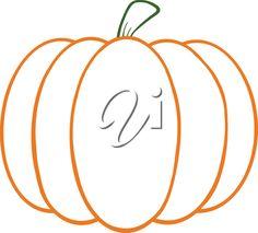 Pumpkin Outline Clip Art Free Simple clipart on pinterest clip art ... Tall Pumpkin Outline Clip Art