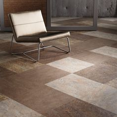 Forbo Marmoleum Modular Tile, fun and practical, natural linoleum, safe alternative to vinyl, VCT or laminate. Marmoleum, Linoleum Flooring, Modern Flooring, Modular Tile, Tile Floor Diy, Home, Patterned Floor Tiles, Flooring Shops, Floor Design