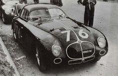 1940 Mille Miglia Alfa Romeo 6C 2500 SS driver Trossi-Lucchi