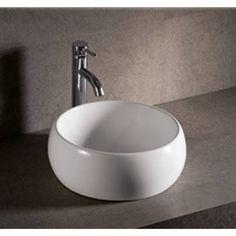 round basin sink - Google Search