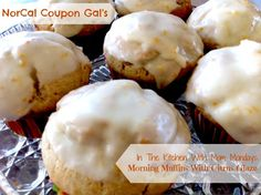 NorCal Coupon Gal's In The Kitchen With Mom Mondays Morning Muffins