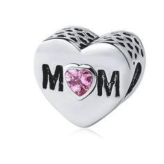 €5.67 Charm Forma de Corazón para tu Pulsera Pandora #pandora #charm #charmcorazon #bead