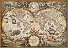 Astrology Discover Vintage modern wall murals Vintage World - Wall Mural & Photo Wallpaper - Photowall Vintage Modern, Vintage Maps, Antique Maps, Old World Maps, Old Maps, Custom Wallpaper, Photo Wallpaper, Toile Photo, Poster Mural