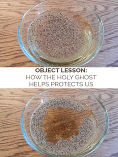 LDS Object Lesson: How the Holy Ghost Helps Protect Us. Great and EASY activity . - LDS Object Lesson: How the Holy Ghost Helps Protect Us. Great and EASY activity about the power of the spirit. Lds Object Lessons, Youth Lessons, Fhe Lessons, Bible Lessons For Kids, Bible For Kids, Children Church Lessons, Primary Lessons, Online Lessons, Holy Ghost Lesson