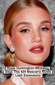 Rosie Huntington-Whiteley Says This Mascara Rivals Lash Extensions   All products featured on Glamour are independently selected by our editors. However, when you buy something through our retail links, we may earn an affiliate commission.
