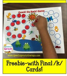 $ Spring Speech Therapy Ideas That Are Just Ducky! Five Little Ducks Unit and a Freebie too!