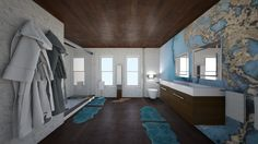 Roomstyler.com - sea bathroom