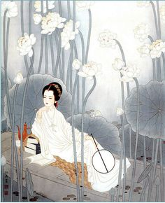 by Yang ShuTao 杨淑涛工笔仕女画