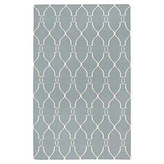 Here's a cute rug to add to some style to your baby's room!
